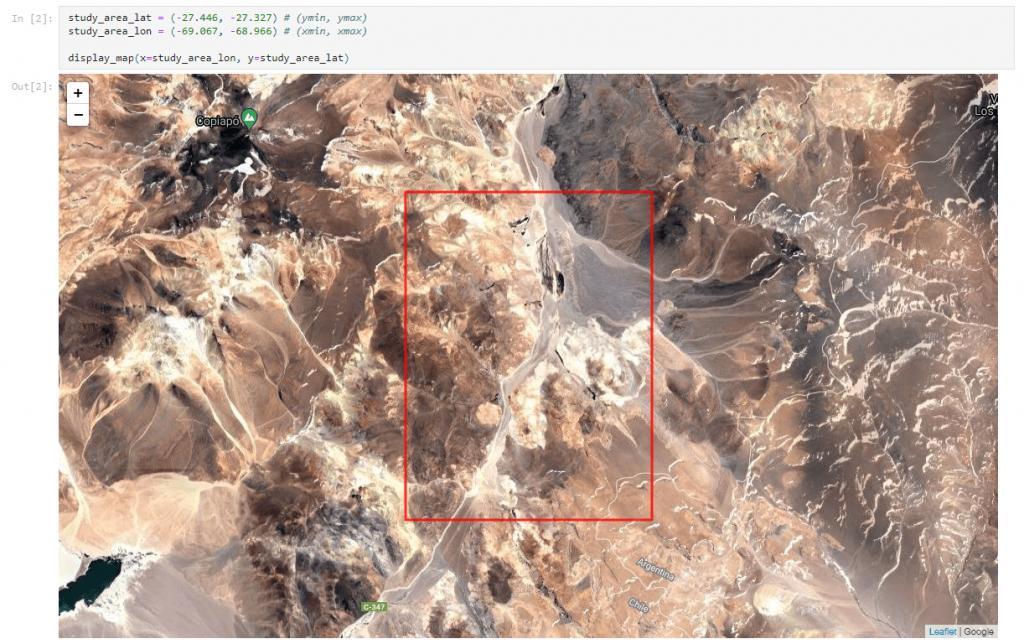 Monitoreo de humedales con las herramientas de DataCube del Data Observatory.